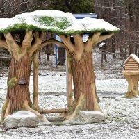 Такие деревца очень украшают парк при смене сезона. :: Татьяна Помогалова