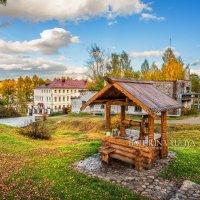 Деревянный колодец в Плёсе :: Юлия Батурина