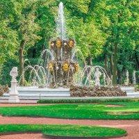 Коронный фонтан. :: Сергей Исаенко