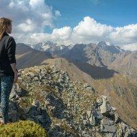 Красиво в горах :: Горный турист Иван Иванов