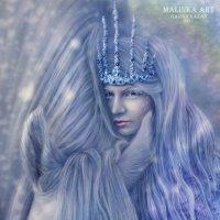Снежная королева :: Malinka Art Galina Kazan
