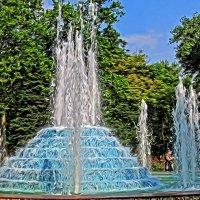фонтан в Сквере Космонавтов :: Александр Корчемный