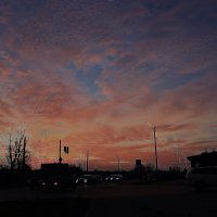 Закат над городом :: Николай Масляев