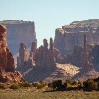 Песчаная буря в Долине Монументов (Аризона, США) :: Юрий Поляков