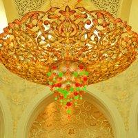 Интерьер мечети шейха Зайеда :: Андрей K.