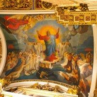 Интерьер храма Исаакия Далматского. Роспись купола. :: bajguz igor