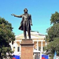 Памятник А.С.Пушкину. :: Виктор Егорович