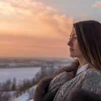 Зимний закат :: Сергей Добрыднев