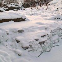 Замёрзший водопад. :: Андрий Майковский
