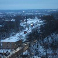 Вид на железную дорогу Снято на Гелиос 44-2 :: Andrew