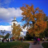 В старом парке царствовала осень :: Alex