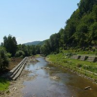 Горная   река   в   Гошиве :: Андрей  Васильевич Коляскин