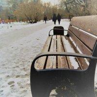скамейка :: Дмитрий Погорелов
