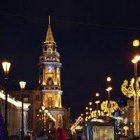 Невский проспект готов к встрече НОВОГО ГОДА :: Валентина Папилова