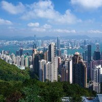 Гонконг. Вид с Пика Виктории :: Анатолий Иргл