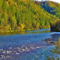 Река Каратас :: Сергей Чиняев
