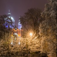church among the trees :: rovno@inbox.ru