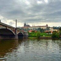Манесов мост и вид на Пражский Град :: Денис Кораблёв