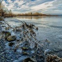 ice on the lake :: Dmitry Ozersky