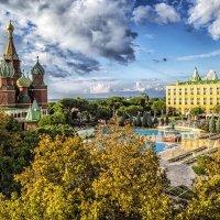 Уменьшенная копия храма Василия Блаженного :: Сергей Ключарёв