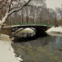 Зимняя осень у милого мостика... :: Sergey Gordoff