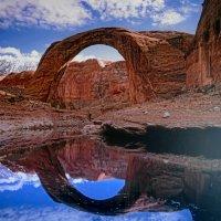 """""""Радужный Мост"""" (Rainbow Bridge, штат Юта, США) :: Юрий Поляков"""