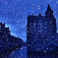 Tombe la Neige... Падает снег... :: Nina Yudicheva
