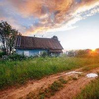 Вечер в деревне :: Татьяна Афиногенова