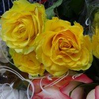 Цветы после концерта от благодарных зрителей :: татьяна