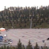 Уфа, ноябрь 2017, памятник Салават Юлаев, конгресс холл. :: Ueptkm