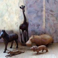 Пять зверей Африки. :: венера чуйкова