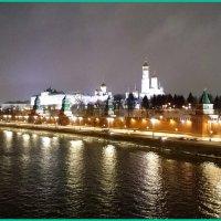 Столица вечером... :: Николай Дони