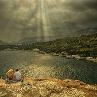 У той горы где синяя прохлада... :: Александр Бойко
