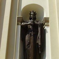 Скульптура   князя   Владимира   в    Ивано - Франковске :: Андрей  Васильевич Коляскин