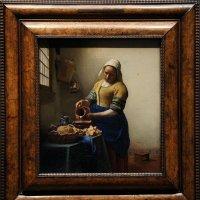 Ян Вермеер.  Молочница (Het melkmeisje), 1658—1660.   Государственный музей, Амстердам :: Елена Павлова (Смолова)