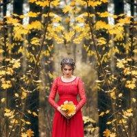 Девушка осень :: Марина Шавловская