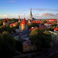 Древний город, старый Таллин, разбудил полёт мечты :: Alex