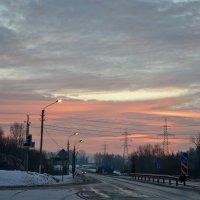 Утро в декабре. :: Михаил Столяров