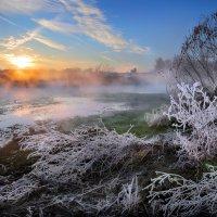 Морозное утро...3. :: Андрей Войцехов