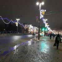 Огни вечернего города :: Вероника