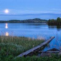 Про белую ночь и полную луну :: Сергей В. Комаров