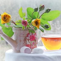 Розовый чай :: Галина Я