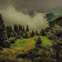 Вечер,моросит,поднимается туман :: Сергей