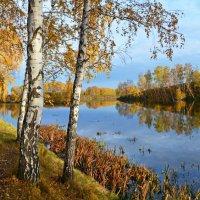 Тихая  осень  у  тихой  речки :: Геннадий С.