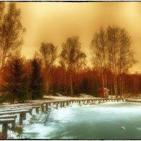 Тихий зимний вечер :: Leo Alex Photographer