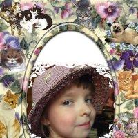 Кошечки, цветочки... :: Елена