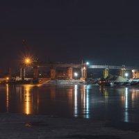Строительство моста через Волгу. :: Виктор Евстратов