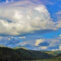 Облака кучевые :: Сергей Чиняев
