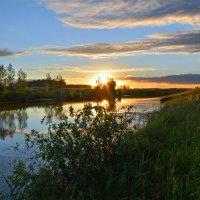 Летний  закат :: Геннадий С.