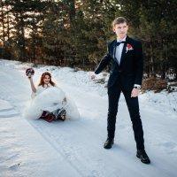 Зимняя свадьба :: Роман Жданов